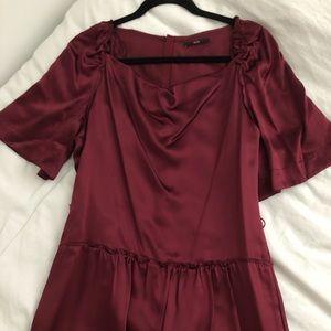 New Hugo boss 100% silk dress